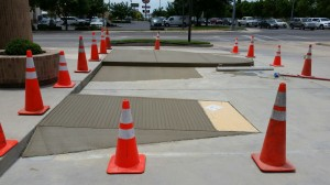 Wheelchair Ramps at Bank of America, Gallup, NM