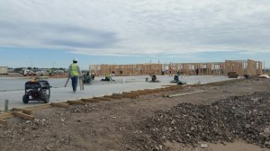 Building foundation in Hobbs, NM